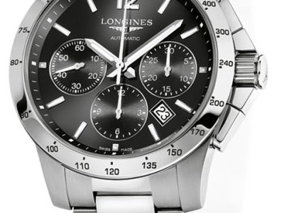 LONGINES HYDROCONQUEST CHRONO MENS WATCH