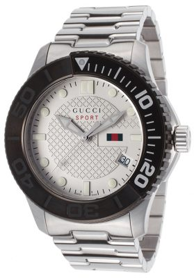 GUCCI G-Timeless Sport - White Dial