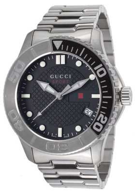 GUCCI G-Timeless Sport - Black Dial