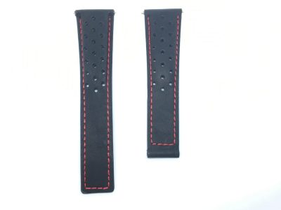 Italian Leather Watch Strap | Deployment Buckle TAG Heuer & Breitling